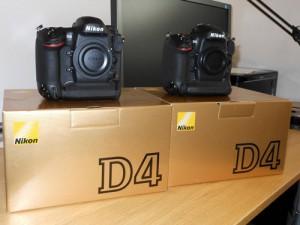 Nikon D4 systemkamera hus.